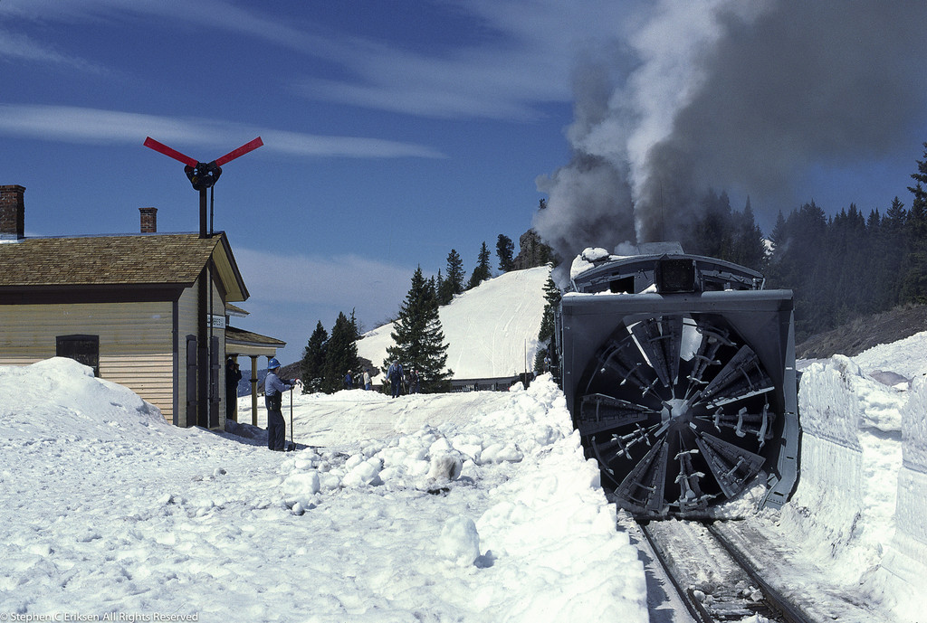 May 4, 1997(?) view of Rotary OM in action at Cumbres, CO.