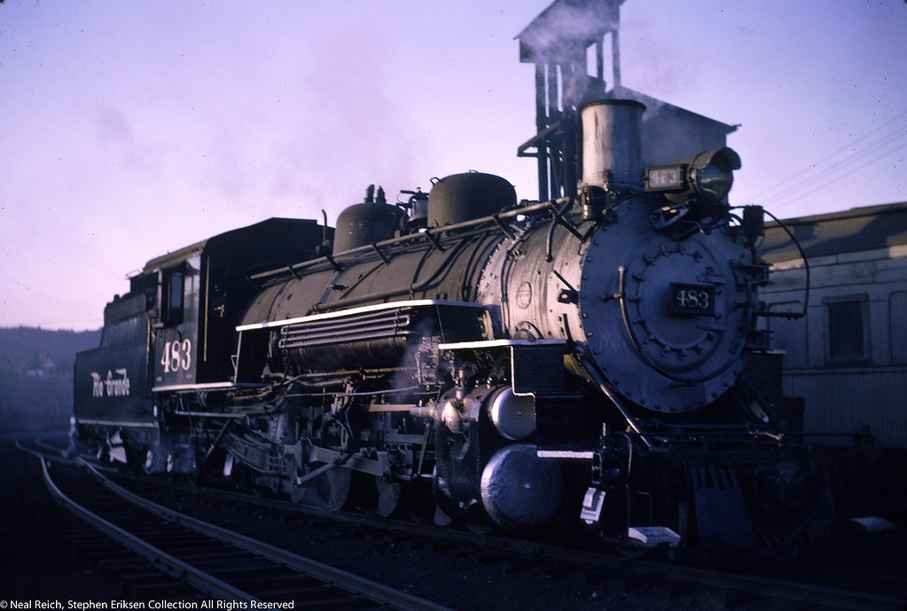May 29, 1966 K-36 #483 Durango, CO