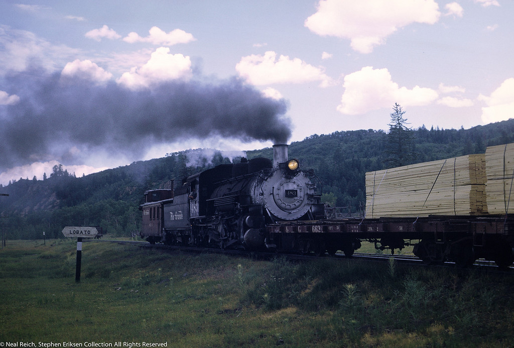 #483 at the rear in Lobato, NM on July 18, 1968.
