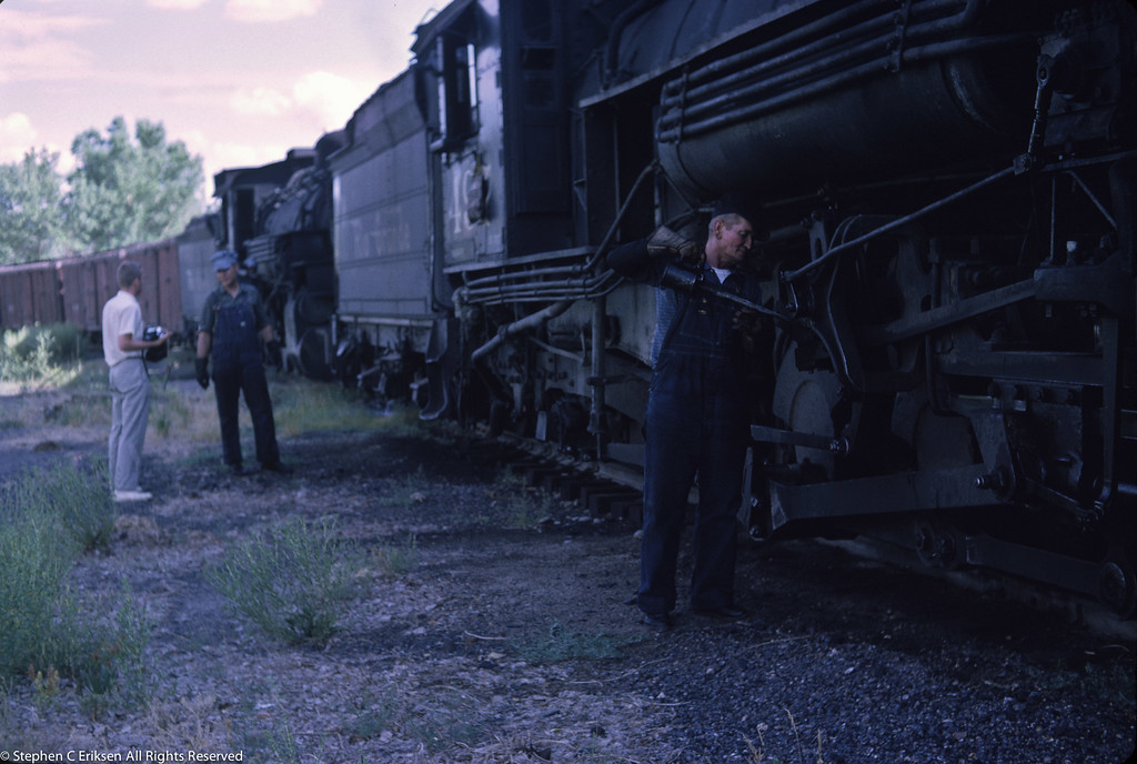 K-37 #497 gets attention in August of 1962.