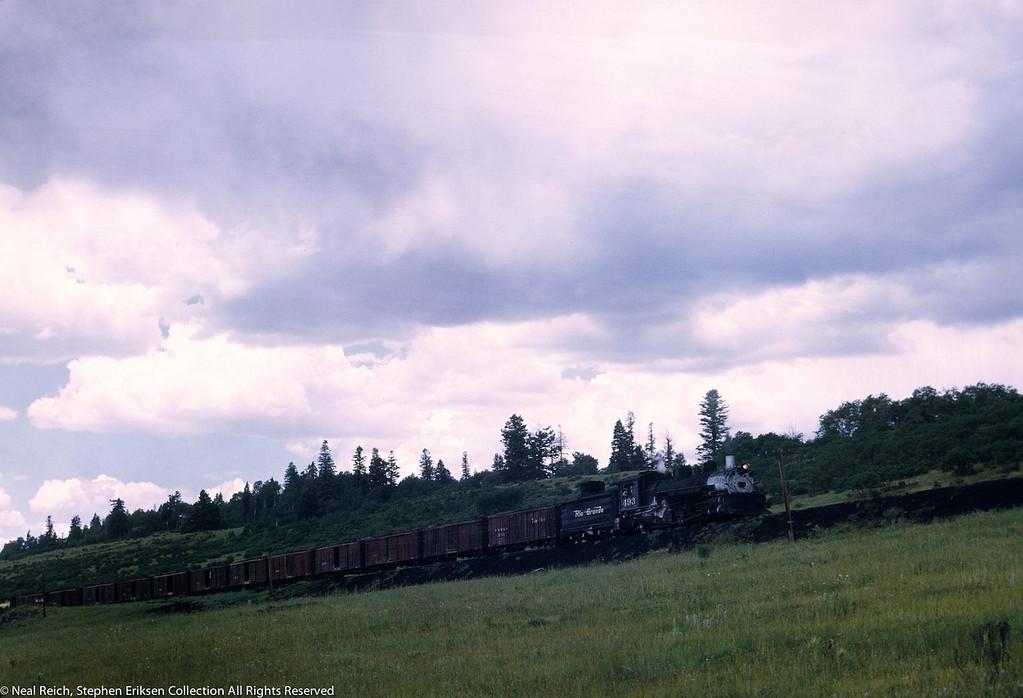 #493 near Lobo Lodge, NM on July 18, 1968.